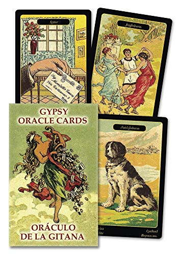 Gypsy Oracle Cards (English and Spanish Edition)