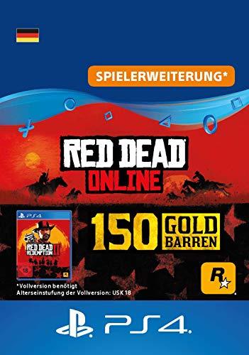 Rockstar Games Red Dead Redemption 2: 150 Goldbarren (DLC) - PS4 Download Code