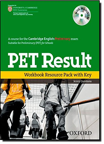 PET Result:: Preliminary English Test Result: Printed Workbook Resource Pack With Key (Preliminary E