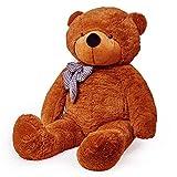 Lumaland Peluche géante Nounours XXL Teddybear Marron 120 cm