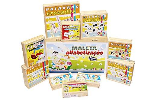 Maleta Alfabetização Carlu Brinquedos