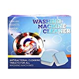 35 PCS Effervescent Tablet for Washing Machine - Washing Machine Cleaner Tablets - Clean Your Washing Machine with Ease and Perfection (Blue, 1 inch)