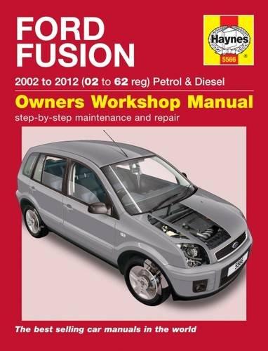 Ford Fusion Petrol & Diesel (02 12) Haynes Repair Manual