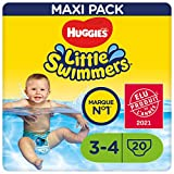 Huggies Little Swimmers Pañal Bañador Desechable Talla 3-4 (7-15 Kg) - 20...