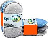 antibactérien en microfibre de cuisine de tampons à récurer double face éponges...