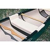 Carlisle Snap-In Center Canoe Seat (Beige)