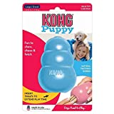 KONG - Puppy Toy - Natural Teething Rubber - Fun to Chew, Chase and Fetch ( Colors May Vary)