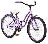 Kulana Hiku Cruiser Bike, 24-Inch Wheels, Purple