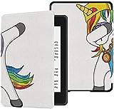 Custodia in Paperwhite Kindle per le donne Divertente Dabbing Party Dance Unicorn Custodia in Paperwhite Kindle Case con cover automatica per risveglio/sonno per Kindle Paperwhite 2018 10a generazi