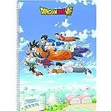 Clairefontaine 812801C - Un cahier à spirale Dragon Ball Super 100 pages 21x29,7 cm 90g...