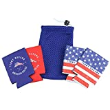 Tommy Bahama American Golfer Beverage Sleeve- Set of Four