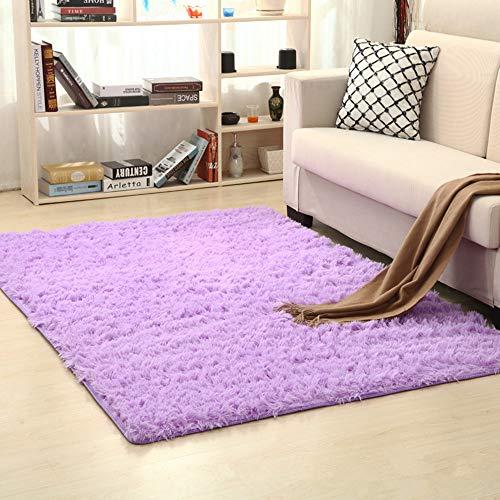 Esclusivo tappeto Shaggy a pelo lungo per soggiorno, camera da letto e cameretta dei bambini,...
