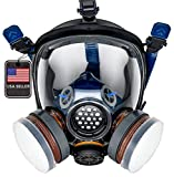 PD-100 Full Face Gas Mask &...