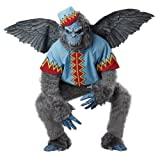 California Costumes Men's Evil Winged Monkey Adult, Grey/Blue, X-Large