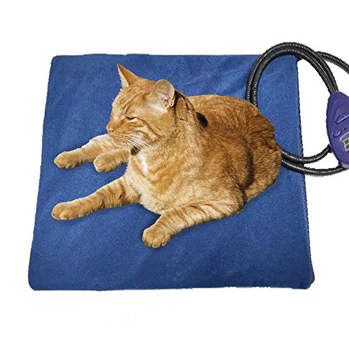 FLYMEI Pet Heating Pad, Dog Cat Electric Heating...