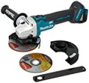 """Makita XAG09Z 18V LXT Lithium-Ion Brushless Cordless 4-1/2""""/5"""" Cut-Off/Angle Grinder"""