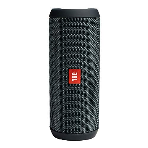 JBL Flip Essential Speaker Bluetooth Portatile, cassa Altoparlante Wireless Waterproof IPX7, jBL Bass Radiator, fino a 10 h di Autonomia, grigio