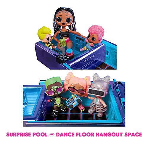 Image 2 - Voiture Dance Machine LOL Surprise avec Poupée exclusive, Piscine Surprise, Piste de Danse et Lumière magique. Voiture de poupée multicolore, pour les filles de 4 and et plus