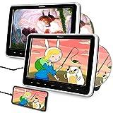 Naviskauto Lecteur DVD Double Ecran Voiture pour Enfant avec Casque 10,1...