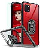 LeYi Coque pour Samsung Galaxy Note 10 Lite / A81 [2 × Verre Trempé] Anneau...