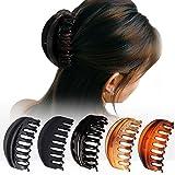 Lot de 5 pinces à cheveux simples antidérapantes pour femme avec cheveux...