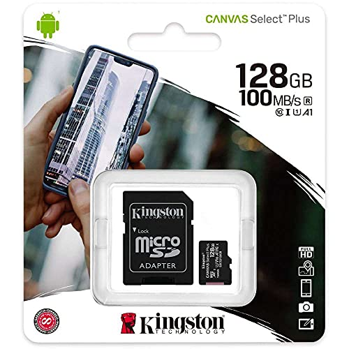 Kingston Canvas Select Plus SDCS2/128GB Scheda...