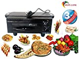 HOT LIFE Electric Tandoor with Automatic Timer and Heat Controller with 2 Handles (Black)