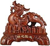 Estatua Impresionante Adorno de jardín para el hogar Escultura Decoración Feng...