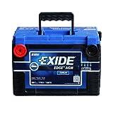 Exide Edge FP-AGM78 Flat Plate AGM Sealed Automotive Battery