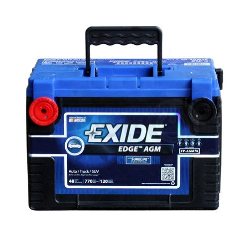 Exide Edge FP-AGM78 Flat Plate Battery
