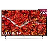 LG 43UP8000-ALEXA 2021-Smart TV 4K UHD 108 cm (43') con Procesador Quad Core, HDR10 Pro, HLG, Sonido Virtual Surround, HDMI 2.0, USB 2.0, Bluetooth 5.0, WiFi