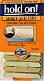 Sheet Grippers Set of 4 Keeps Sheets Snug & Wrinkle-free, Holds Sheets in Place. Fits All Types of Beds