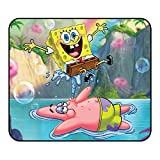 Cute Spong_ebob Mouse Pad - Gaming Computer Mouse Pad Non-Slip Mouse Mat with Delicate Edges,Mouse Pad for Laptop Kids Office Dorm11.81x9.84 x0.12Inch(30x25x0.3cm)