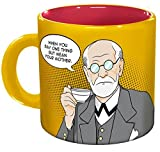 Unemployed Philosophers Guild 13655'Freud - Freudian Sips' Kaffeebecher