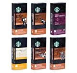Starbucks Ultimate Variety Mix - 60 Nespresso compatible capsules - 6 different blends (in total 6x10 pods)