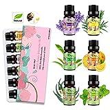 Aceites Esenciales para Humidificador Aceite Esencial 100% Naturales Puro Aromaterapia Esencias para...