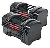 PowerBlock EXP Stage 1 Adjustable Dumbbell Set (Sold in Pairs)