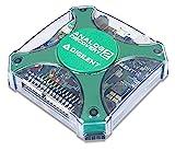 Analog Discovery 2: 100MS/s USB Oscilloscope, Logic Analyzer and Variable Power Supply