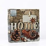 Nouveau Coming Home - Servilletas de Papel, Multicolor, 25 x 25 cm