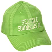 Officially licensed by MLS Small adidas logo Velcro closure at back Color: Green