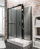 Cabine de douche complète Korsika, cabine de douche intégrale avec porte...