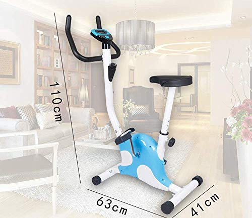 YFFSS Exercise Bikes, Adjustable Exercise Bike, LED Display Seat, Fitness Pedal, Dynamic Bicycle, Indoor Weight Loss, Aerobic Exercise, Fixed Fitness 4