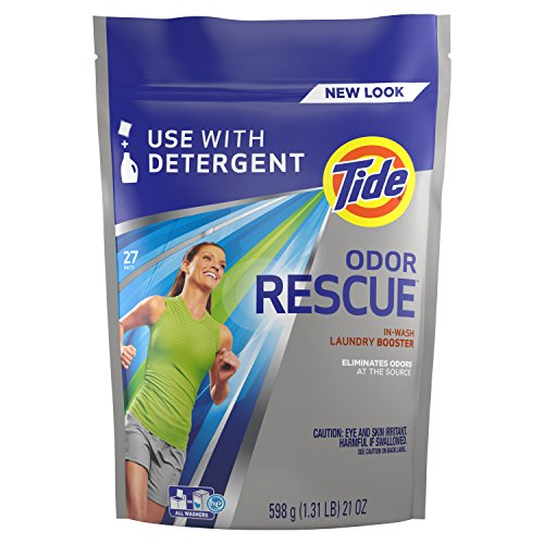Tide Odor Rescue In-Wash Laundry Booster Pacs, 27...