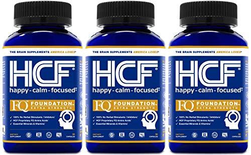 HCF Happy, Calm & Focused - Brain Focus, Attention,...