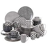 vancasso, série Haruka, Service de Table Porcelaine 48 pièces...
