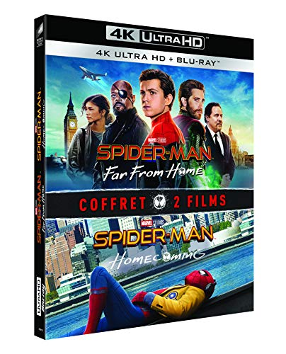 Spider-Man : Homecoming + Far from Home [Francia] [Blu-ray]