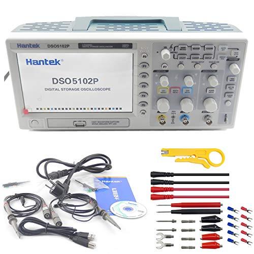 HANTEK Osciloscopio Almacenamiento Digital USB 100mhz 2canales