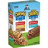 Quaker Chewy Granola Bars, Chewy & Dipps Variety Pack, (58 Bars)