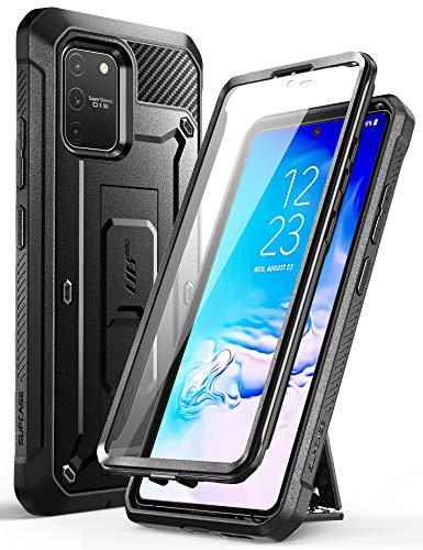 SUPCASE Cover Samsung S10 Lite Custodia 360 Gradi Protezione per Display Integrata [Unicorn Beetle PRO] Rugged Case per Samsung Galaxy S10 Lite, Nero
