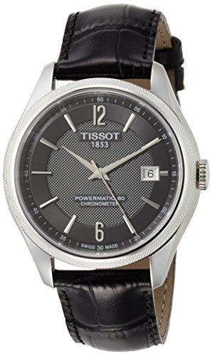 Tissot Herren-Uhren Analog Automatik One Size Leder 87201601